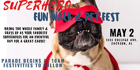 2020 Super Hero Pet Fest & Fun Walk tickets