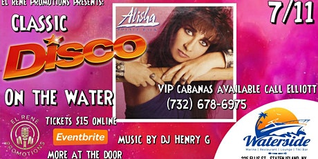 Disco On The Water With Alisha tickets
