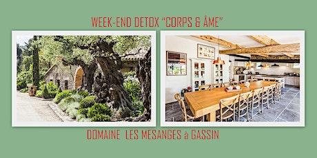 """WEEK-END DÉTOX """"CORPS & ÂME"""" à GASSIN billets"""