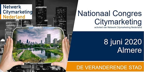 Nationaal Congres Citymarketing 2020 tickets