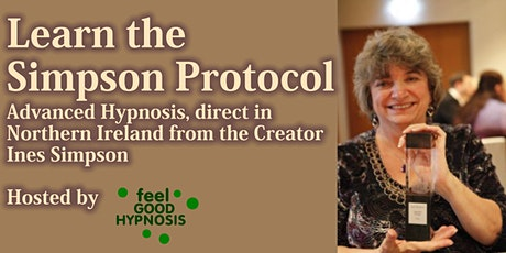 The Simpson Protocol - Advanced Hypnosis Process for Change tickets