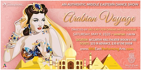 Arabian Voyage 2020: An Authentic Middle Eastern Dance Show tickets