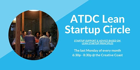 VIRTUAL - ATDC Lean Startup Circle tickets