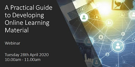 A Practical Guide to Developing Online Learning Material tickets