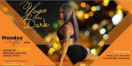 Yoga After Dark - Midtown tickets