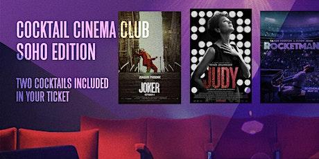 Cocktail Cinema Club (Awards Season) tickets