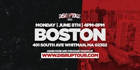 DISRUPTOUR BOSTON tickets