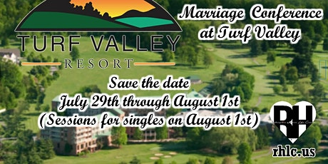 Marriage Conference at Turf Valley Spa Resort tickets