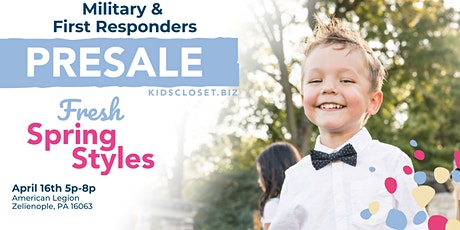 KCC Butler County Military & 1st Responders Presale tickets