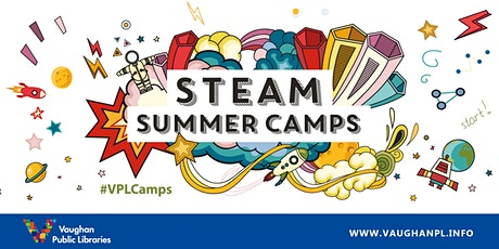 STEAM Summer Camp: Virtual Reality tickets