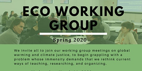 Eco-Working Group tickets