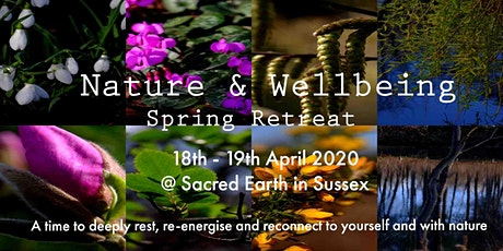 Nature & Wellbeing - Spring Retreat Weekend tickets