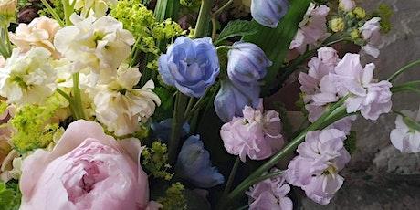 Garden Style Hand Tied Bouquet Workshop in British Flowers Week tickets