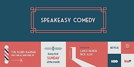 Speakeasy Comedy tickets