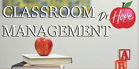 CLASSROOM MANAGEMENT 2 DAY INSTITUTE tickets