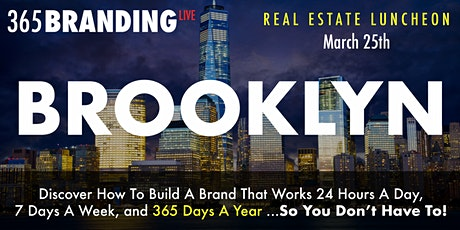 Brooklyn | 365 Branding Live Event tickets