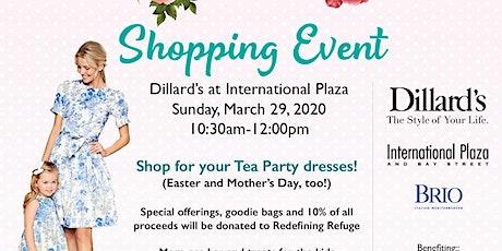 Mommy & Me High Tea Shopping Event at Dillard's International Plaza tickets