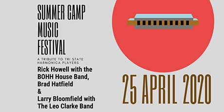 Summer Camp Music Festival- A tribute to Tri State Harmonica Players tickets