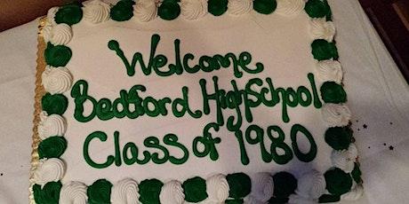 Bedford High School Class of 1980 - 40th Class Reunion tickets