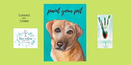 Paint Your Pet Class at  the Blue Water Grill tickets