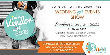 Sass Fall Wedding & Event Show tickets