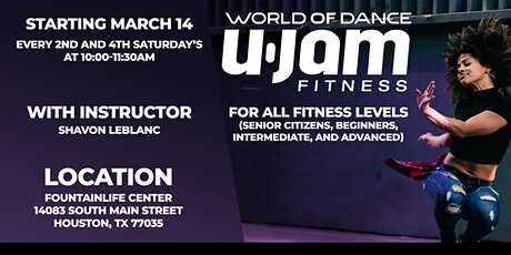 UJAM Fitness Classes tickets