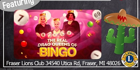 """Fiesta With The Queens featuring """"The Real Drag Queens of Bingo"""" tickets"""