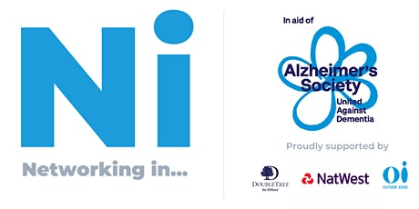 Networking in... The Cloud - 1st April 2020 - For the Alzheimer's Society tickets