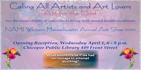NAMI Western Massachusetts 9th Annual Art Show tickets