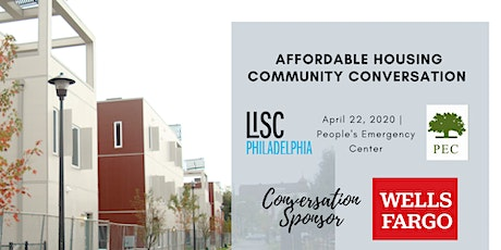 LISC's Community Conversation-Affordable Housing tickets