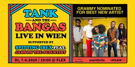 Tank and the Bangas LIVE in Wien Tickets