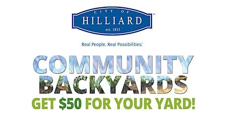 Hilliard Community Backyards tickets
