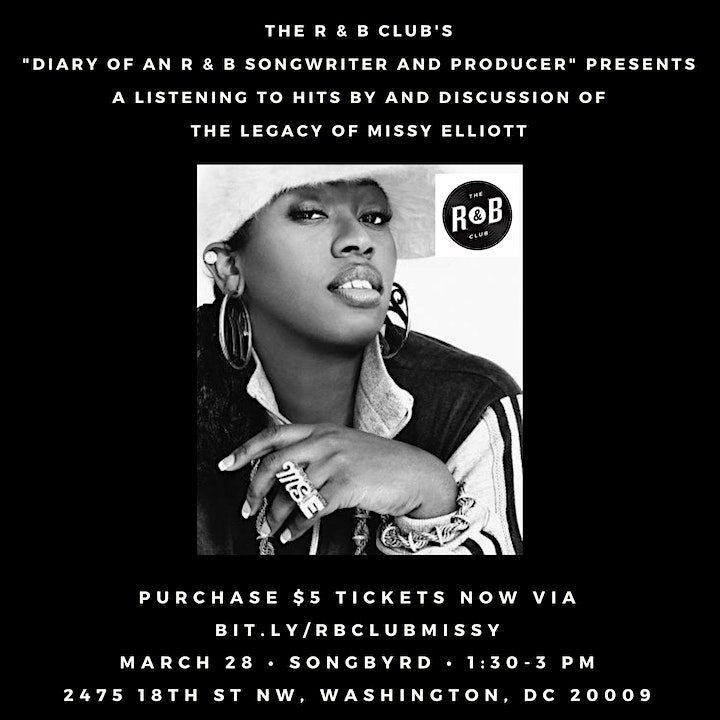 Diary of an R&B Songwriter & Producer: Missy Elliott image