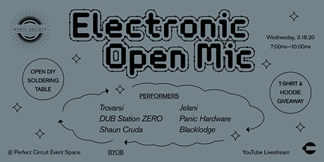 SoCal Synth Society: Electronic Open Mic (EVENT POSTPONED) tickets