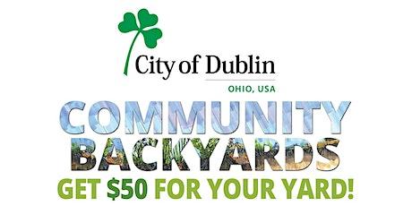 Dublin Community Backyards tickets