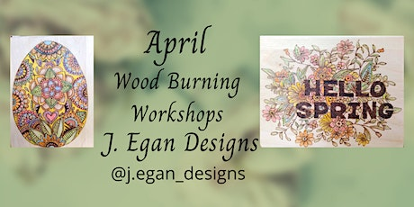 Wood Burning Workshop -  Spring Has Sprung tickets