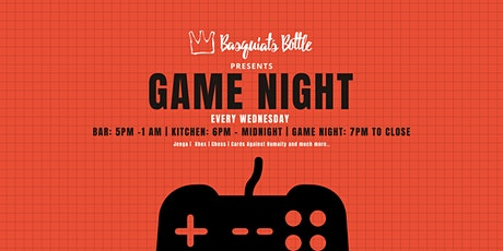 Basquiat's Bottle Presents Game Night tickets