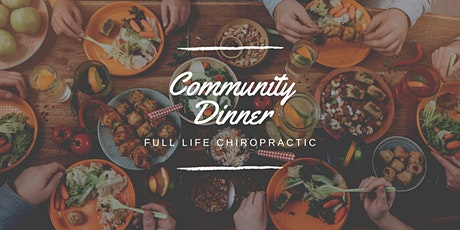 Community Dinner with the Doc tickets