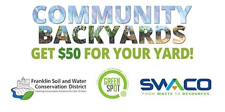 2020 Community Backyards Spring Kick-off Online Webinar! tickets
