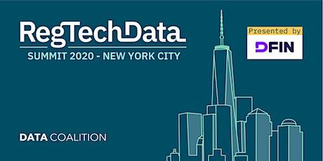 RegTech Data Summit 2020 tickets