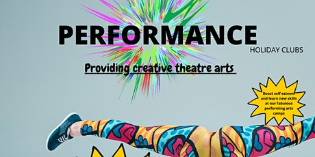 PERFORMANCE HOLIDAY CLUB CREATIVE DANCE  4-6 YEARS tickets