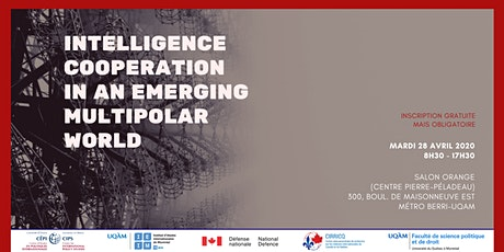 REPORTÉ - Intelligence Cooperation in an Emerging Multipolar World tickets