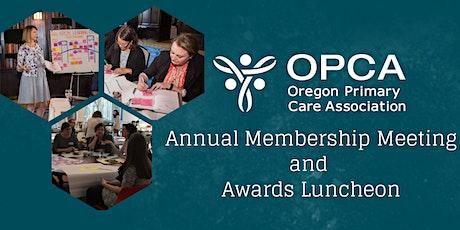 2020 OPCA Annual Membership Meeting & Awards Luncheon tickets