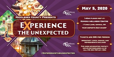 Middlesex County 2020 Experience the Unexpected tickets