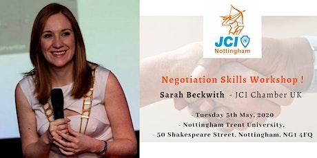 Negotiation Skills Workshop | Sarah Beckwith tickets