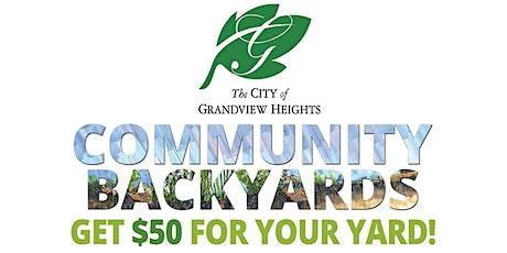 Grandview Community Backyards tickets