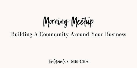 Building a Community Around Your Business tickets