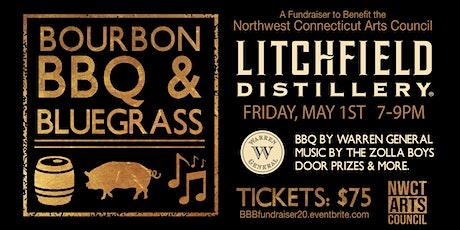 Bourbon, BBQ, & Bluegrass - Fundraiser for the NWCT Arts Council tickets