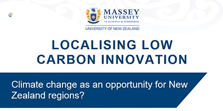 Localising low carbon innovation - A Panel Debate tickets