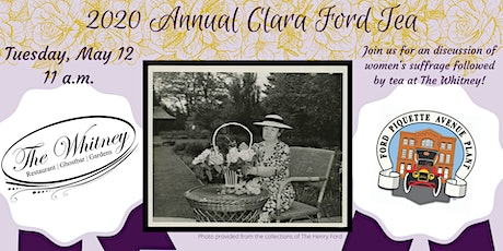2020 Clara Ford Tea tickets